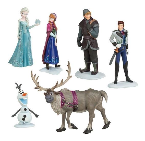 Play Set Frozen Tradicional Original Disney Store Na Caixa