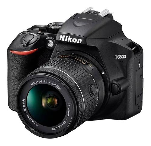 Cámara Nikon D3500 24,2 Mpx  Kit 18-55mm Full Hd.