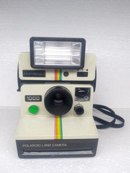 Câmera Fotográfica Polaroid Land 1000 Poltronic, No Estado