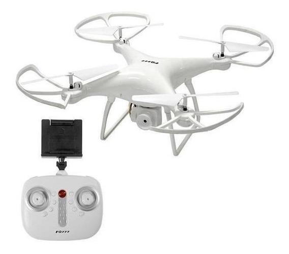 Drone FQ777 FQ33 con câmera HD white