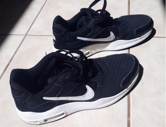 Tennis Nike Air Preto Tamanho 35 Pouco Uso Muito Conservado