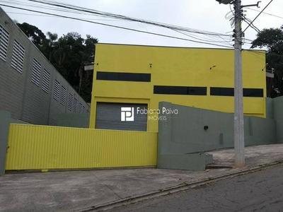 Galpão Comercial Para Locação, Jardim Silvestre, Itaquaquecetuba. - Ga0004