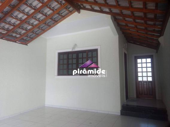 Casa Com 3 Dormitórios Para Alugar, 100 M² Por R$ 1.800,00/mês - Jardim Das Indústrias - São José Dos Campos/sp - Ca4078