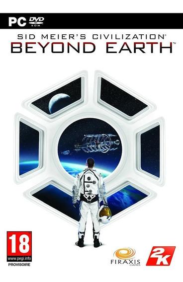 Civilization Civ Beyond Earth Pc Mídia Física Original Novo