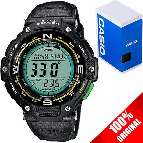 Reloj Casio Outgear Sgw100 Lona Brújula Termómetro