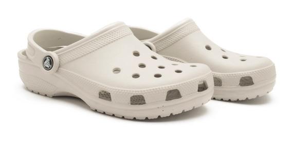 Crocs Originales Classic Unisex Gris Claro