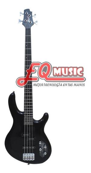 Bajo Electrico Activo Cort 4 Cuerdas Action Bass Negro/rojo