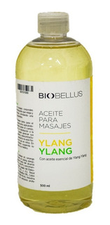 Aceite Para Masajes - Ylang Ylang - Biobellus 500ml