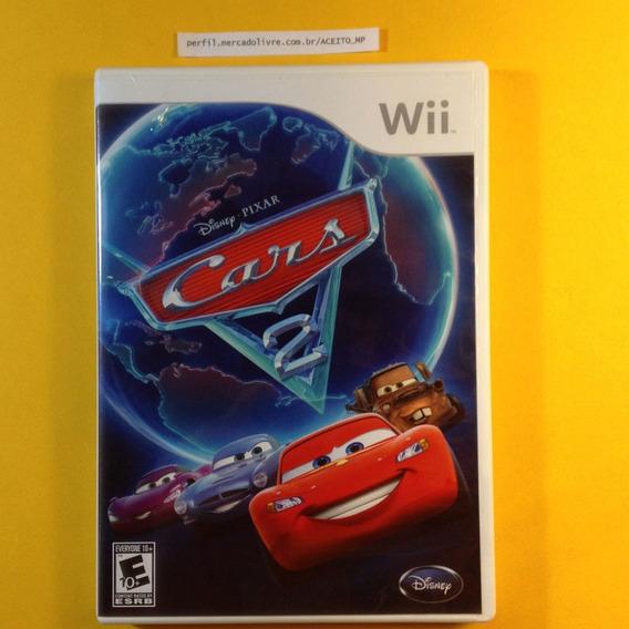 Disney Pixar Cars 2 Original Americano Nintendo Wii Wii U
