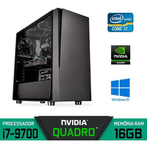 Computador Gráfico I7 Ram 16gb Ssd 240gb Hd 2tb Quadro P2000
