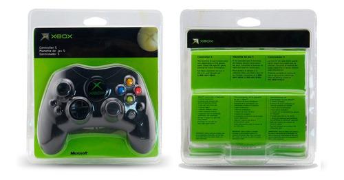 Control Xbox Clasico Alambrico Consola Xbox 2 Ranuras