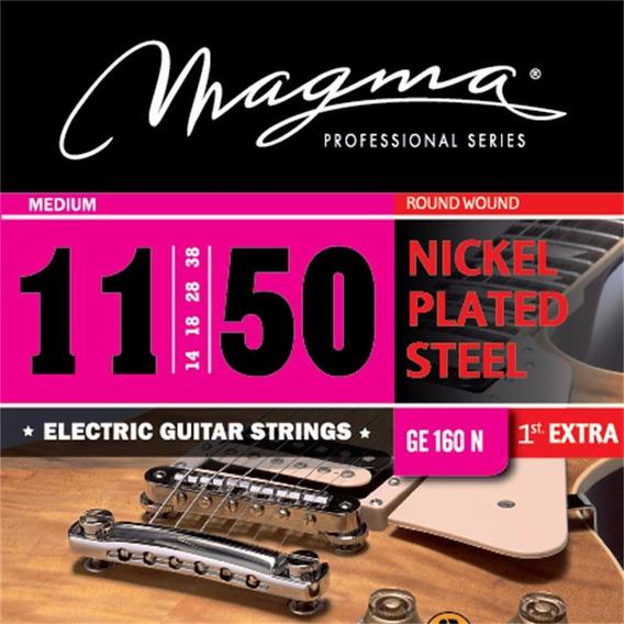 Magma Ge160n Cuerdas Para Guitarra Electrica Encordado