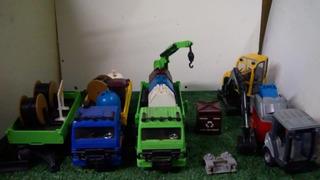 Kit Caminhões Construção Elka Leve Já