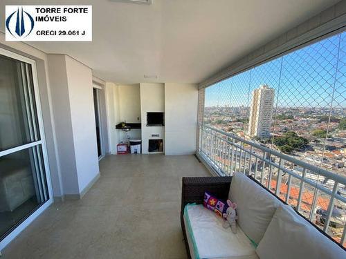 Apartamento Com 4 Dormitórios, Suíte, Gourmet E 2 Vagas Na Vila Carrão - 2389