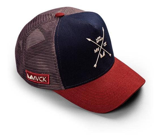 Boné Texas Trucker Mvck Original Alta Qualidade
