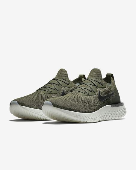 Zapatillas Nike Epic React Flyknit Verde // Nuevo 2018