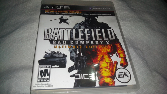 Battlefield - Bad Company 2 - Ps3 - Completo