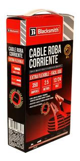 Cable Puente Batería 350 Amp 2,5 Mts De Largo Roba Corriente