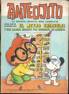 Anteojito / Nº 502 / Año 1974 / Lamina Diversa Clase Cactos
