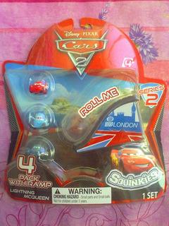 Cars Squinkies Figuras Miniatura Serie 2 Modelo Chico