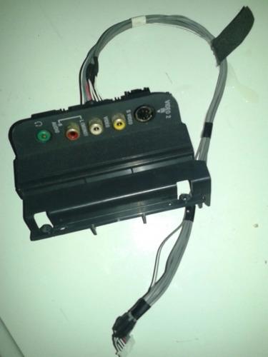 Conectores Lateral Do Av Da Tv Sony Klv40s200a
