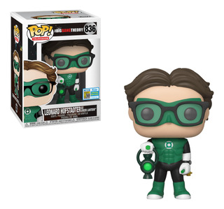 Figura Funko Pop Tv Big Bang Theory - Leonard As Green Lante