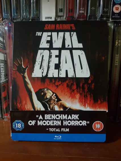 Steelbook The Evil Dead Bluray Sam Raimi Importado Uk Raro