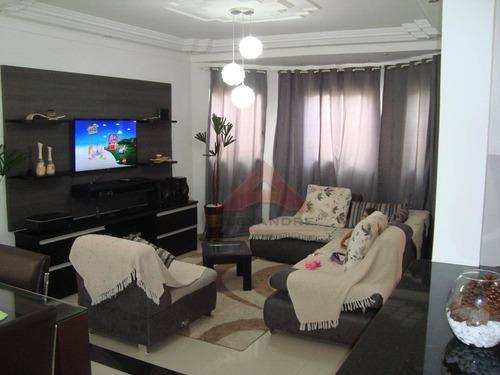 Imagem 1 de 5 de Casa À Venda, 151 M² Por R$ 526.000,00 - Cidade Jardim - Jacareí/sp - Ca3523