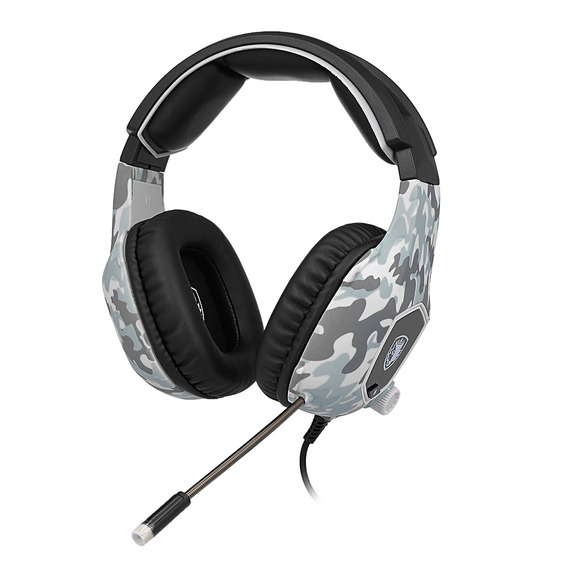 Sades Sa-818 3.5mm Wired Gaming Headsets Sobre Fones De