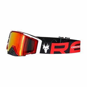 Lente Espelhada Oculos Red Dragon Mod: Yh105 Verm Metalizad