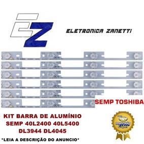 Kit Barra De Aluminio Semp 40l2400 40l5400 Dl3944 Dl4045