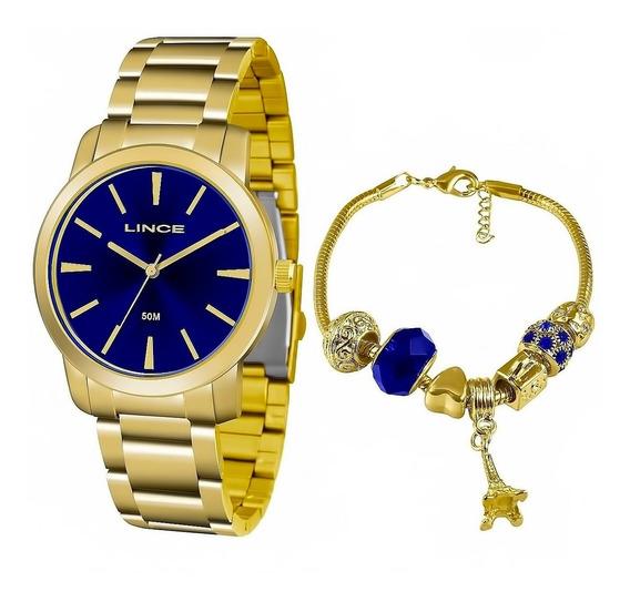 Relógio Feminino Lince Lrg4506l Ku52 Barato Original