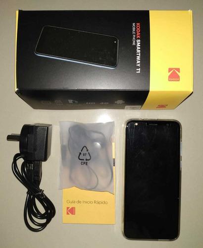 Celular Kodak Smartway T1. Huellas. Caja, Funda, Auric, Lib