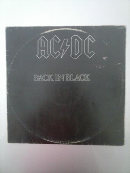 Ac/dc - Back In Black (vinil Lp 1980)