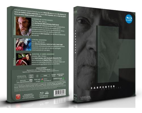 Blu-ray Carpenter Essencial - Edição Limitada Com 4 Cards