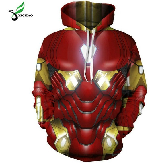 Sudadera 3d Cosplay Avengers 4 Hombres Y Ropa Mujer