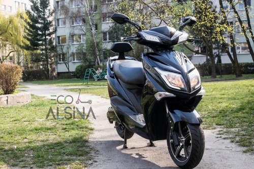 Moto Electrica Sunra Hawk Litio Extraible 50km Eco Alsina