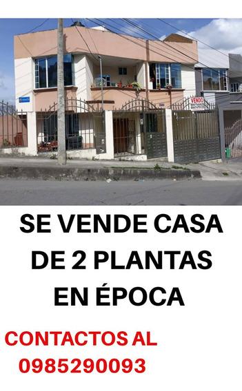 Se Vende Una Amplia Casa De 2 Plantas En Época.
