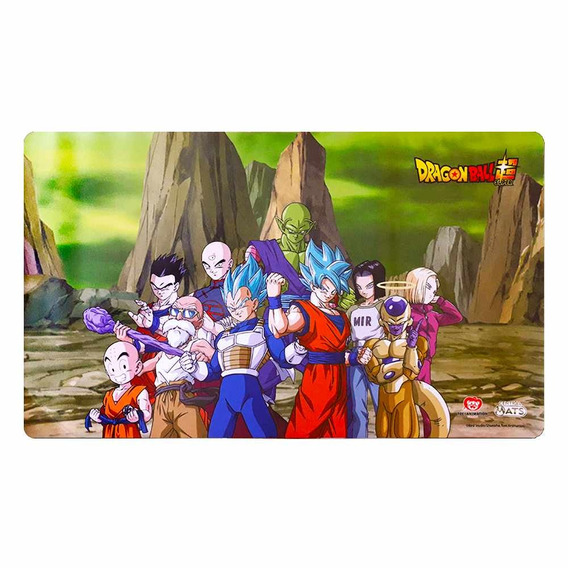 Tapete Duelo Dragonball Super Universo 7 Playmat Card Game