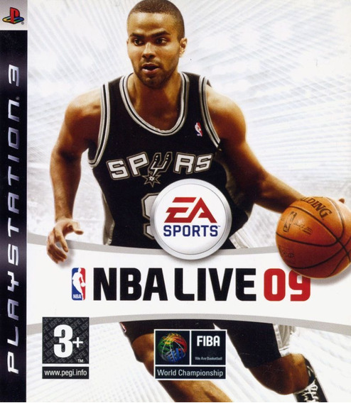 Nba Live 09 - Ps3 Mídia Física