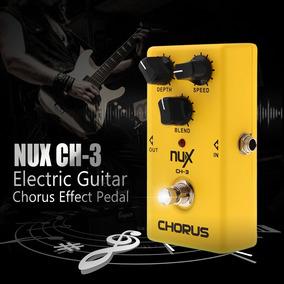 Pedal Guitarra Chorus Nux Ch-3 + Brinde