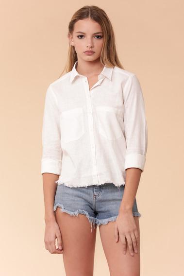 Camisa Mujer Ancona Blanco Delaostia