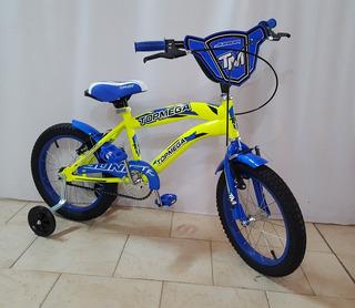 Bicicleta Top Mega Varon Rodado 16