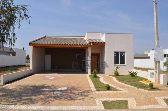 Casa Com 3 Dormitórios À Venda, 170 M² Por R$ 595.000 - Condomínio Campos Do Conde Ii - Paulínia/sp - Ca12988