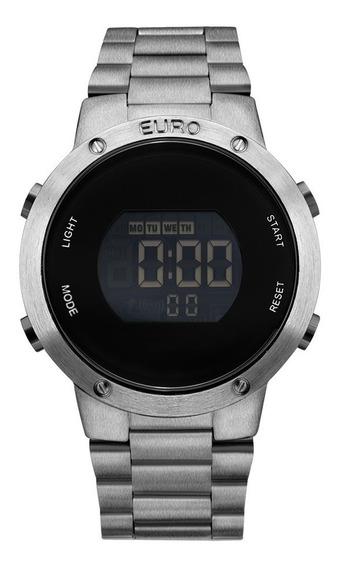 Relógio Euro Digital Eubj3279ae/4k Grafite Sabrina Sato