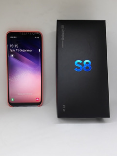 Samsung Galaxy S8 Ametista 64gb Promoção (12x Sem Juros)