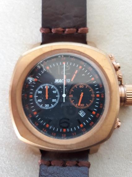 Relógio Magnum Masculino Cronografo 34129 Semi Novo