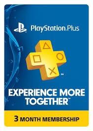 Membresias 3 Meses Play Station Plus Usa Codigo Digital