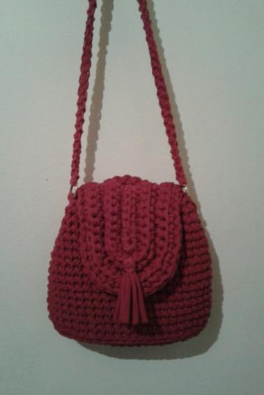 Bolsa Red De Crochê