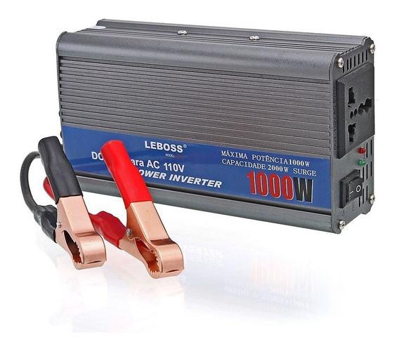 Inversor Tensão 12v 110v 1000w Transformador Lb521 Conversor